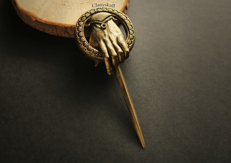Hand of the king brooch. Game of thrones brooch. Hand of the image 0