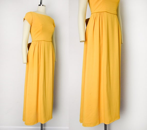 1960s Marigold Gown - image 2