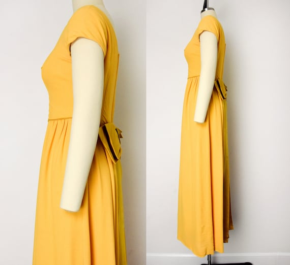 1960s Marigold Gown - image 4
