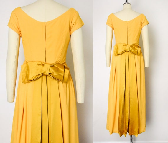 1960s Marigold Gown - image 5