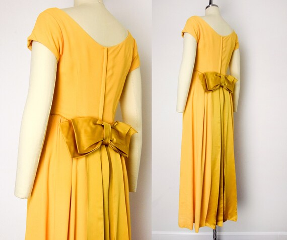 1960s Marigold Gown - image 3