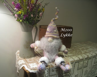 Hand Knitted Scandinavian Gnome