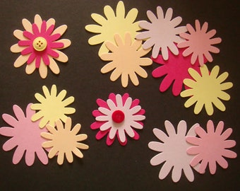 Build a Flower die cuts for cards/toppers - cardmaking scrapbooking