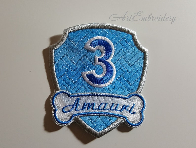 Birthday and Event Patches -PP Inspired Embroidered Badges - Sew on  Patches, Made to Order