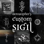 Your Custom Sigil (bindrune, magick, occult art, spiritual, unique, seal, personalized, spell, protection)