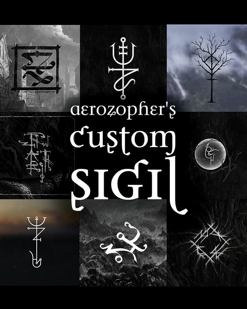 Your Custom Sigil personalized bindrune sigil magick image 0