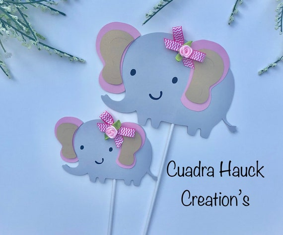 Elephant Baby Shower Elephant Centerpieces Stick Baby Shower