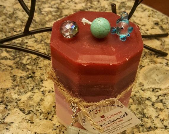 CUSTOM Candle - Treasure Candle