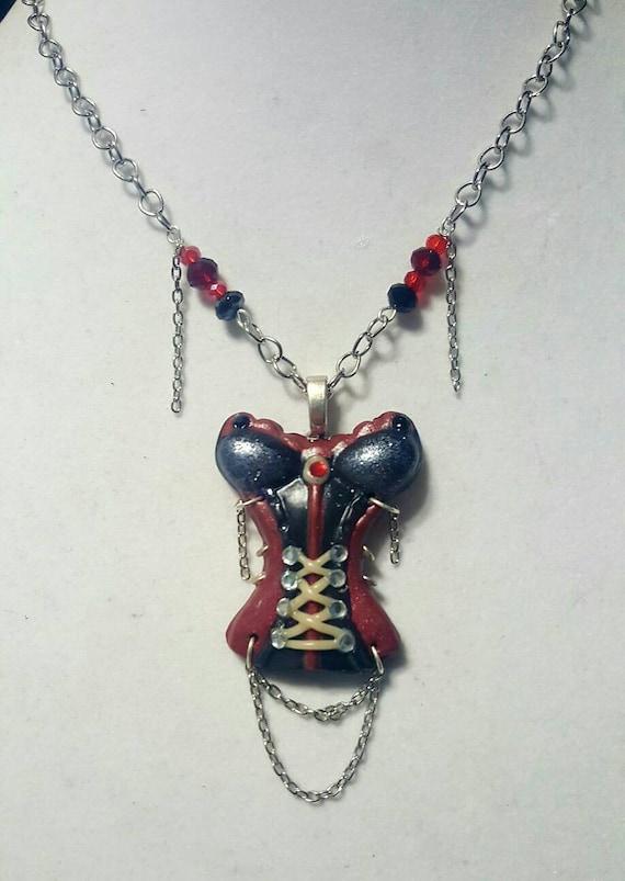 Sexy Corset Necklace, English Countess