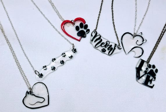 For the Love of Pets - Choose your whimsical statement necklace.