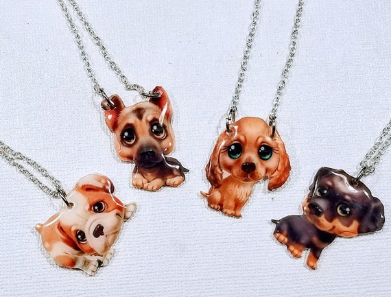 Puppy Pack - Choose your whimsical statement necklace.