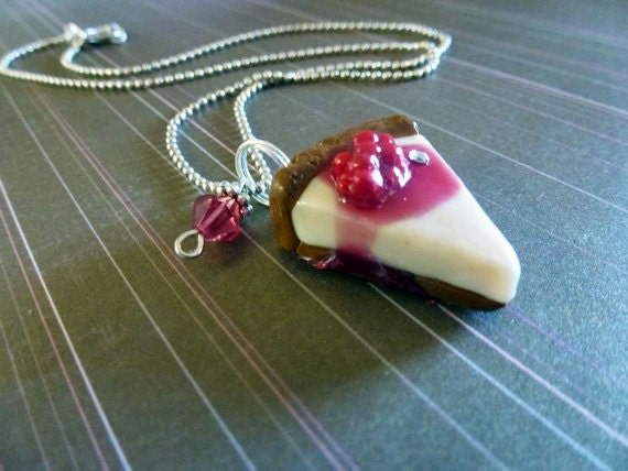 Cherry Cheesecake Necklace SCENTED