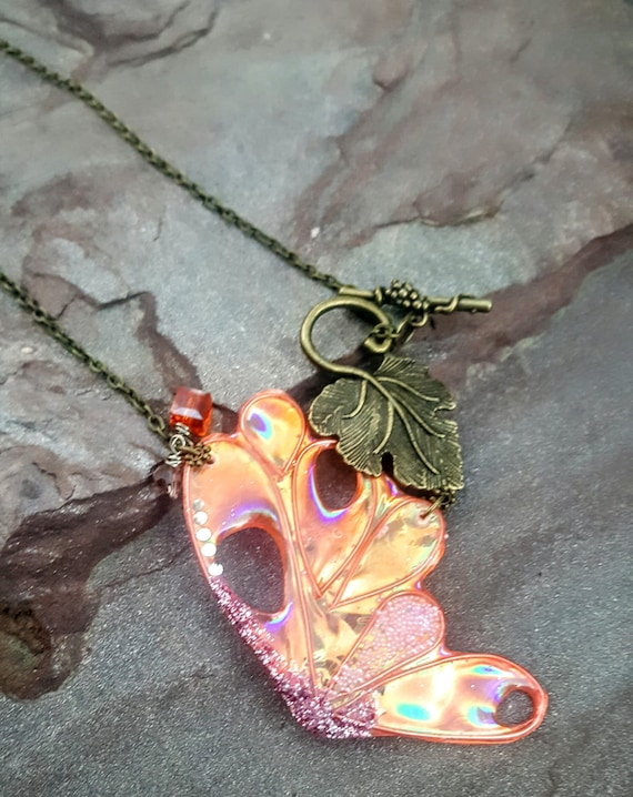 Fairy Wing Necklace - New Blossoms