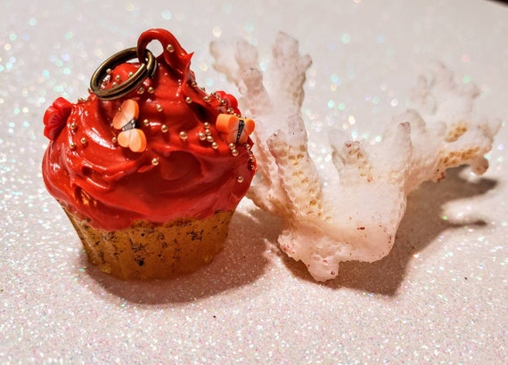 Pumpkin Spice Cupcake with Sprinkles Charm - SCENTED