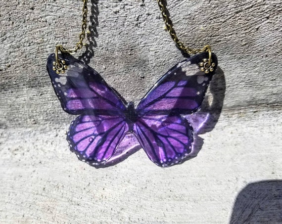 Monarch Butterfly Elegant Necklace