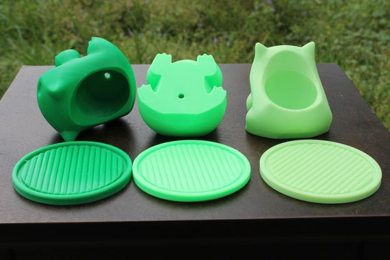 Free Shipping Planter Saucer Bulbasaur 3d Printed From Etsy