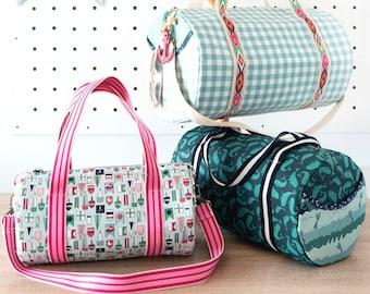 The Saturday Duffle Bag Pattern | Digital PDF Sewing Pattern