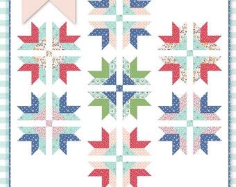 Picnic Crossing Quilt Pattern | Digital PDF