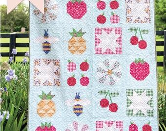 Summer Sugar Quilt Pattern | Digital PDF Pattern