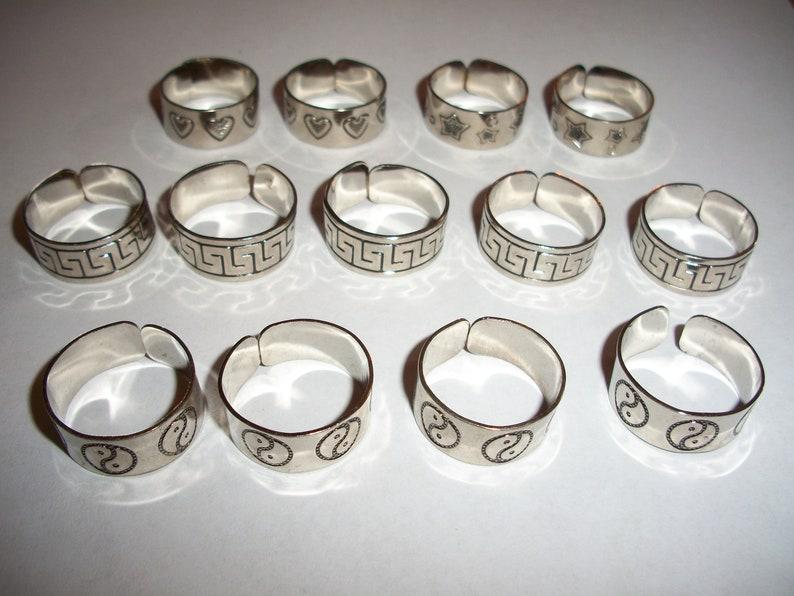 Hearts Rings Yin Yang Lot 13 Greek Key
