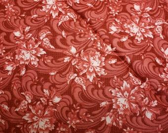 2ef572c43 Regent s Park Flourish Red by Monique Dillard - Maywood Studio - MAS8166-R  - By the Half Yard
