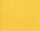 Bubble POP - Polka Dot in Yellow - Vintage 1930 39 s Reproduction Fabric - Sandy Klop of American Jane - Moda Fabrics - 21766-21