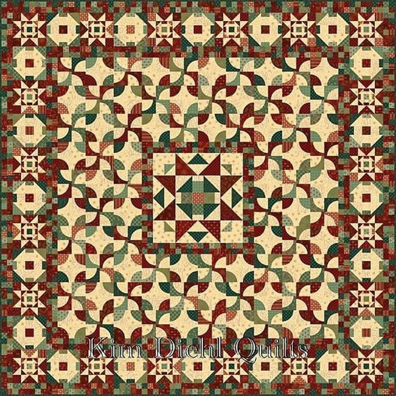 Liberty Legacy Quilt Kit  Featuring Liberty Star by Kim Diehl image 0