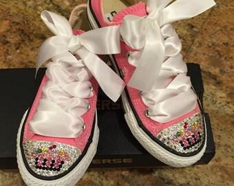 Infant/toddler blinged shoes