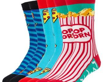 Design Socks for Pizza Party / Beauty Socks /  Funny Socks / Unique Socks / Cool Socks