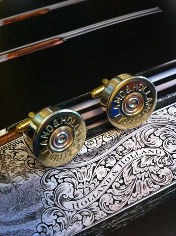 Holland And Holland >> Holland Holland Shotgun Shell Cartridge Cap Cufflinks Clay And Game Shooting