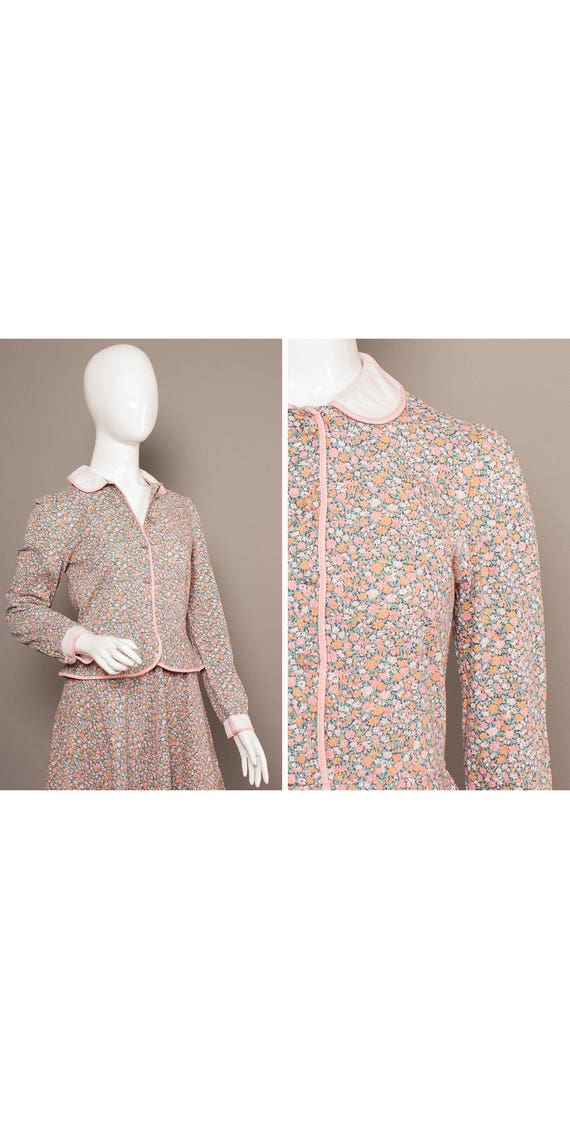 MARION DONALDSON 70s Boho Paisley Midi Dress UK 10