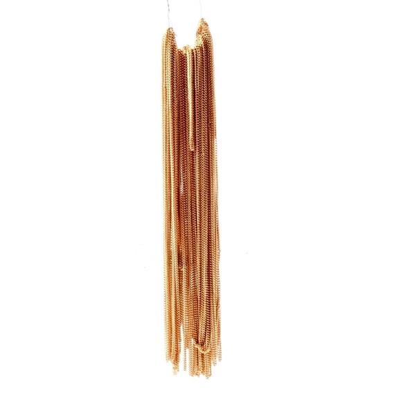 20 mètres longueur vintage doré lien chaîne bijou collier design