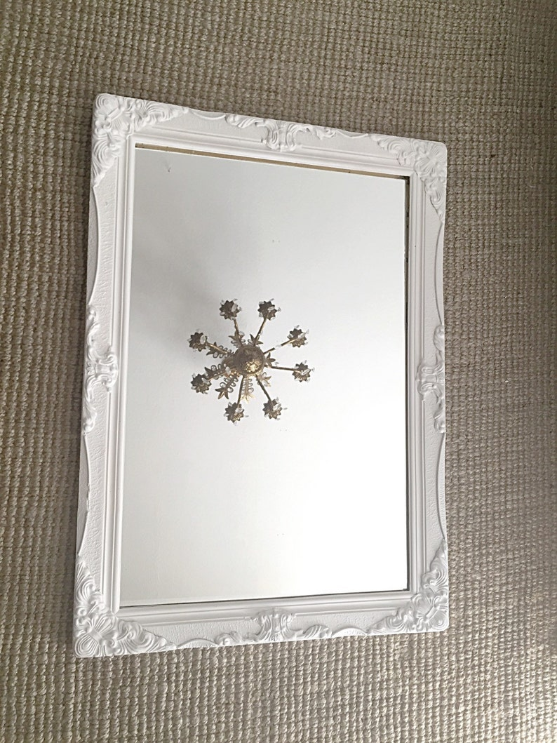 a771a0c925624 Large Baroque Mirror Ornate Wall Mirror White Shabby Chic