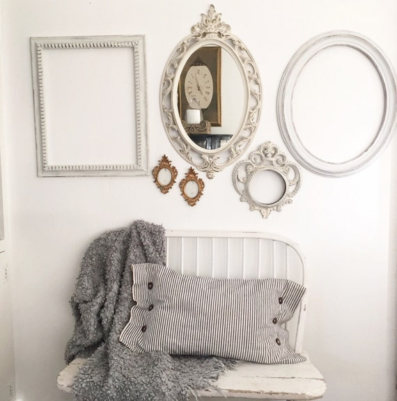 Gallery Wall, Wall Frames, Mirror, Nursery Wall Decor, Set of 6 ...