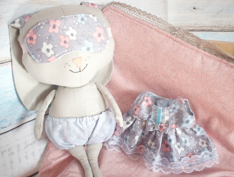 baby doll girl home room decor Soft bunny Tilda bunny doll Little Girl toys Fabric Doll easter gift Easter bunny Decorative Doll