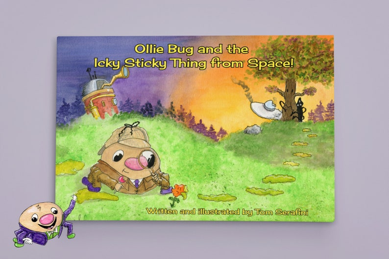 Softcover Ollie Bug and the Icky Sticky Thing From Space image 0