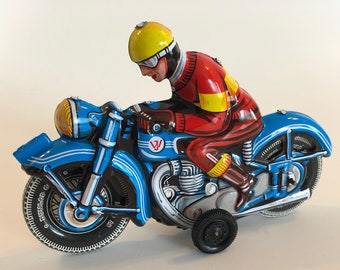 German All Tin Motorcycle