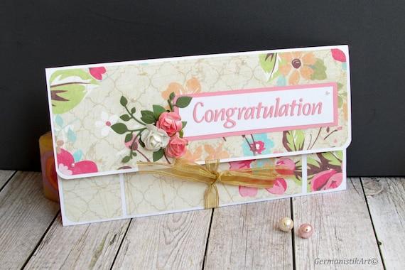 Wedding Gift//Voucher// Money Wallet  Wedding,//Engagement etc Personalised