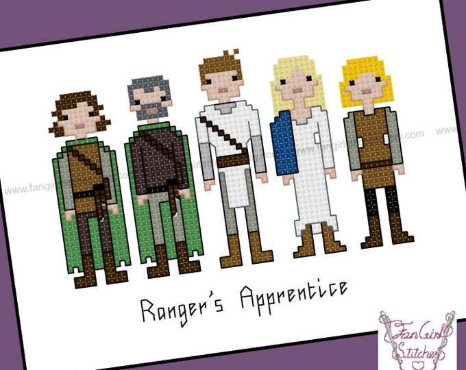 Ranger's Apprentice themed cross stitch pattern - PDF pattern - INSTANT DOWNLOAD