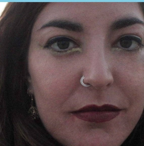 Aztec Nose Ring Silver Nose Ring Gypsy Nose Ring Nose Etsy