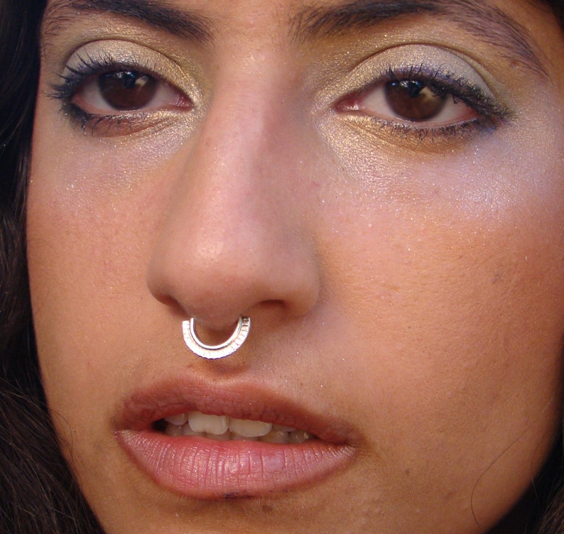 rook Minerva- septum Tribal septum helix earring Indian septum daith septum piercing cartilage hoop septum ring tragus Nose Hoop