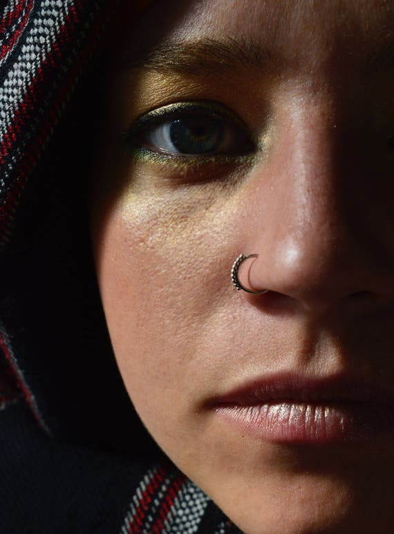 Nose Ring Christmas Sale Silver Nose Ring Tribal Nose Ring Etsy