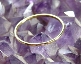Gold Rings, Thin wedding ring, 14 k solid gold rings, Weddings Bands, Wedding Rings, wedding rings for women, delicate rings, minimalist