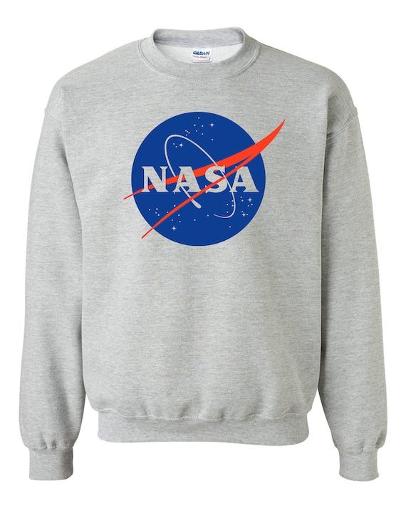 codice promozionale 6edbf 797e4 NASA felpa - felpa grigio Meatball - NASA camicia - spazio Tshirts S, M, L,  XL, 2XL