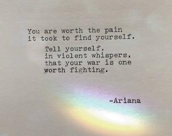 She Made Broken Look Beautiful Poem Love Poem Original Poetry Etsy