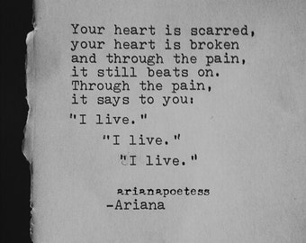 Ariana Dancu Poetry Poem Love Poem Original Poetry Typography Etsy
