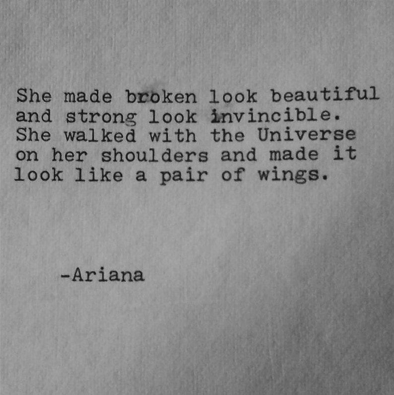 She made broken look beautiful Poem love poem original poetry image 0