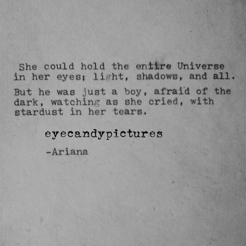 poetry original poem love letter typewritten poem typography typographic  wall art sad ariana poem romantic love poem NOVA 135