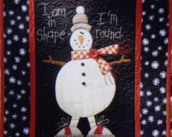 Snowman Wallhanging Pattern