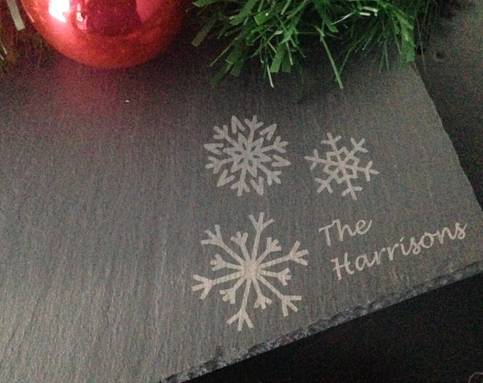 Personalized Slate Cheese Board- Real Estate Closing Gift-Holiday Cheese Board